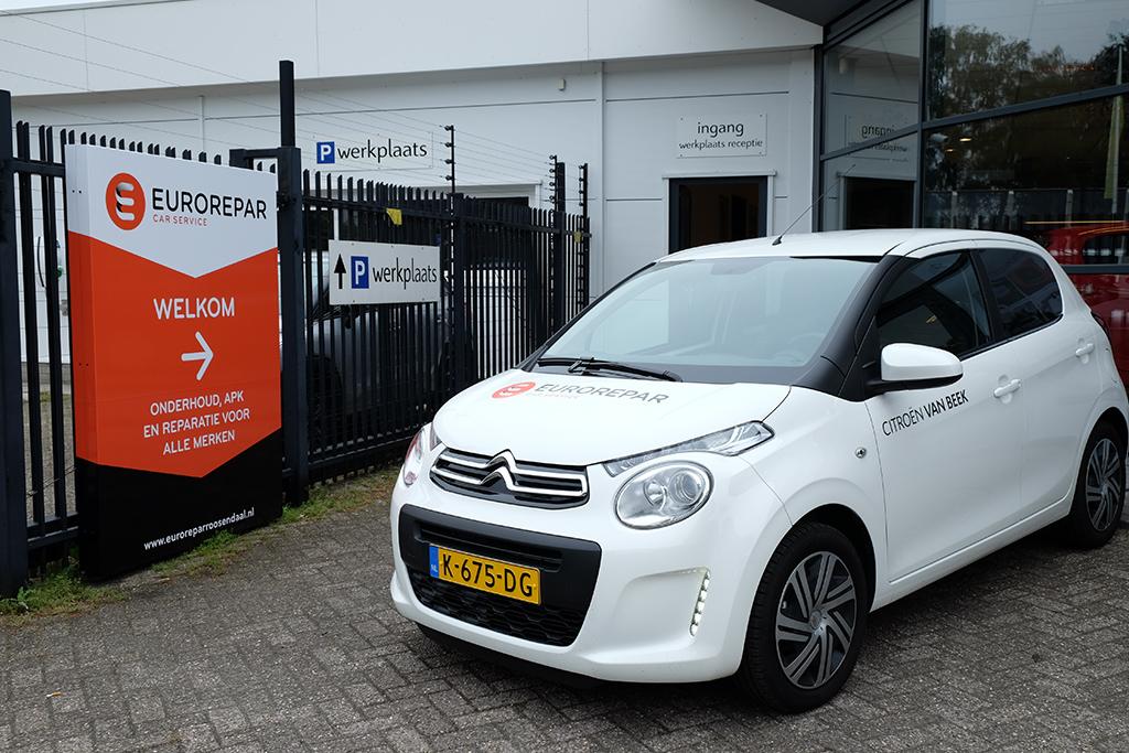 Universele garage Roosendaal